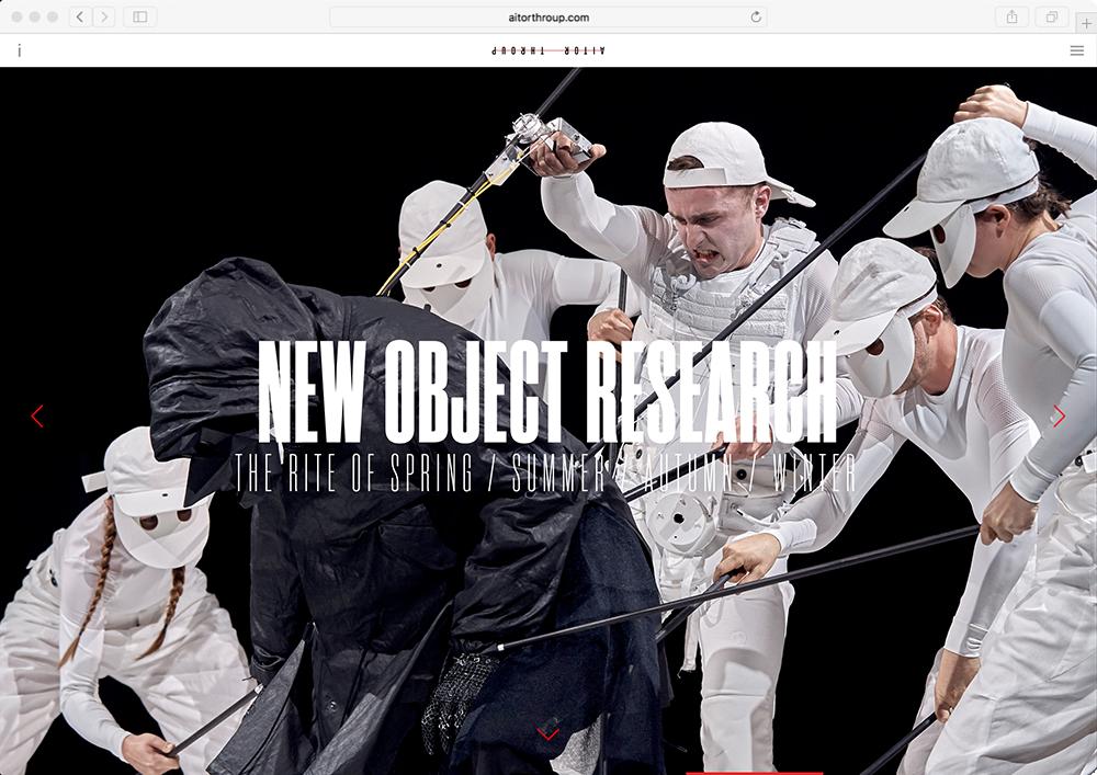 Aitor Throup - Website