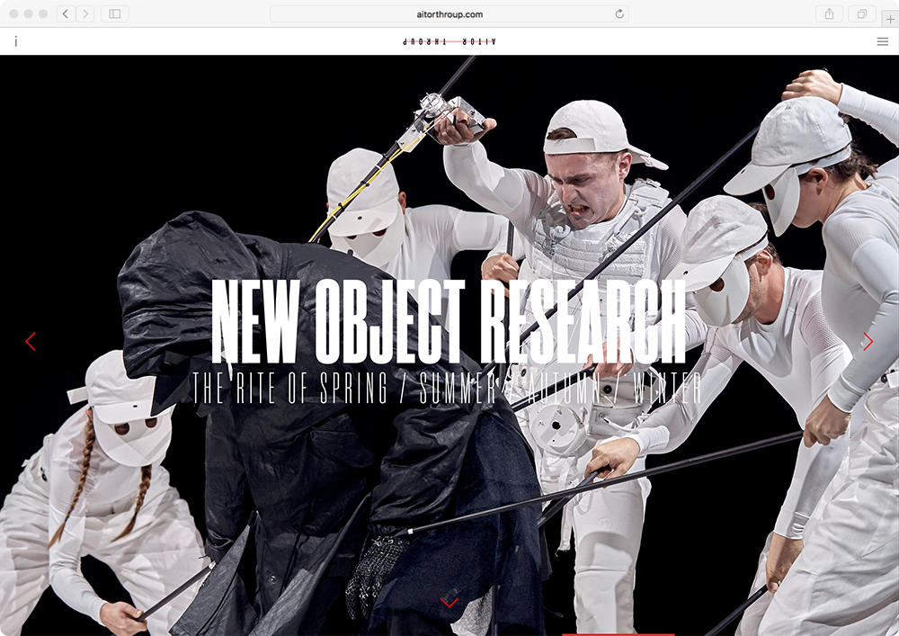 Aitor Throup - Website